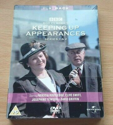 Keeping up appearances - Series 1 and 2 - DVD - Region 2