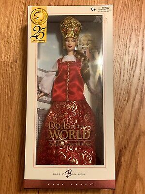 Barbie Dolls the World PRINCESS OF IMPERIAL RUSSIA 25th Anniversary Pink Label