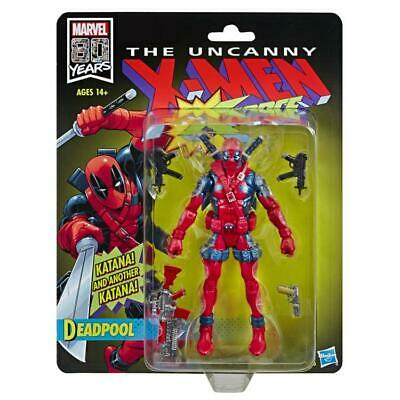 Marvel Legends 80th Anniversary X-Force Deadpool exclusive action figure
