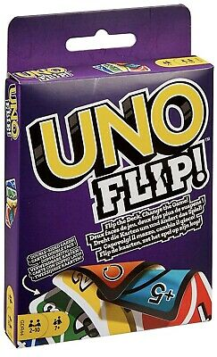 Mattel UNO FLIP Card Game, Multi colored Exciting New Twists From Uno