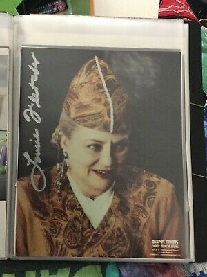 Star Trek hand signed autograph Louise Fletcher As Kai Winn