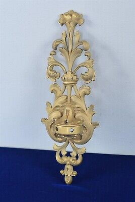"""Antique Bronze Decorative Rococo Style Wall Candelabra/Candle Sconce 14"""""""