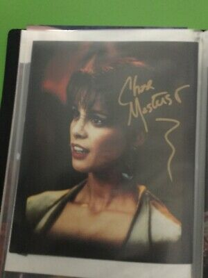 Star Trek hand signed autograph Chase Masterson As Leeta