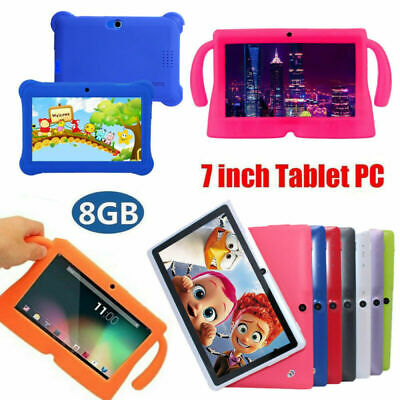 7 Inch Android Quad Core Dual Camera Tablet PC 8GB Bluetooth Kids XMAS Gift Wifi