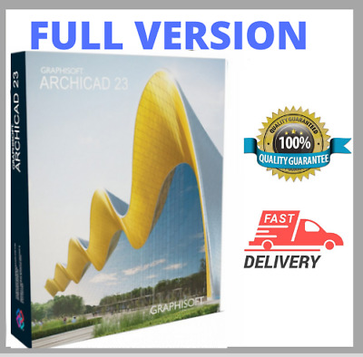 🔥GRAPHISOFT ARCHICAD 23 2019 ☑ Full Version ☑ Lifetime Use ☑Fast Delivery 🔥🔥