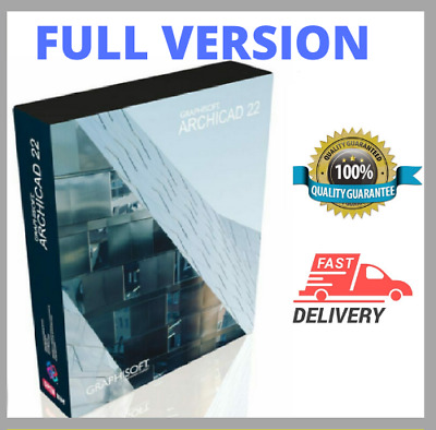 🔥GRAPHISOFT ARCHICAD 22 2019 ☑ Full Version☑ Low Price ☑Fast Delivery 🔥