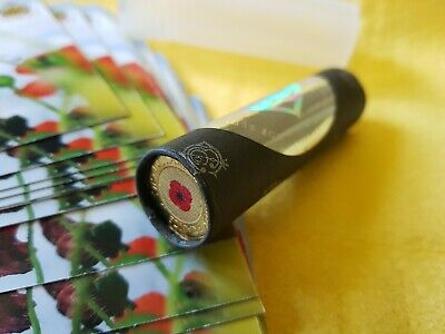 2012 UNC $2 Red Poppy Coin Roll of 25 coins (C&C) & 25 RSL Cards