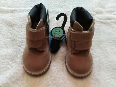 Infant Suede Effect Winter Ankle Boots Size UK 3 NEW