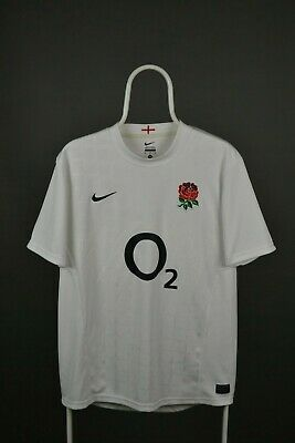 England adults M MEDIUM 2011 nike home rugby union shirt jersey trikot