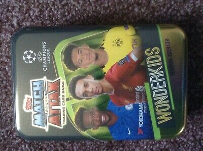 Topps Match Attax Champions League - Empty Wonderkids  Tin