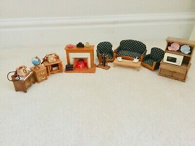 sylvanian living room set perfect Christmas present for kids