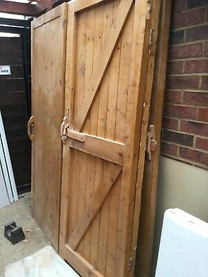 wooden garden gates see pic for sizes