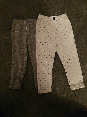 Girls Track Suit Bottoms / Trousers. Age 2-3 & 3-4