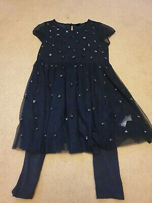 Next Girls Dress/tunic And Leggings Age 6