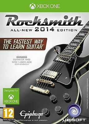 Xbox One Rocksmith 2014 Edition With Real Tone Cable