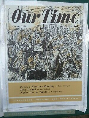 James Boswell cover Our Time magazine Jan 1946
