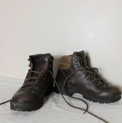 Scarpa Brown Leather Walking Hiking Boots UK 9.5 EU 44 Goretex Weatherproof