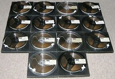 "14 Scotch – 3M Type 176 7"" Reel-to-Reel ¼"" 1.5 Mil Tapes w/ BPS Beautiful Music"