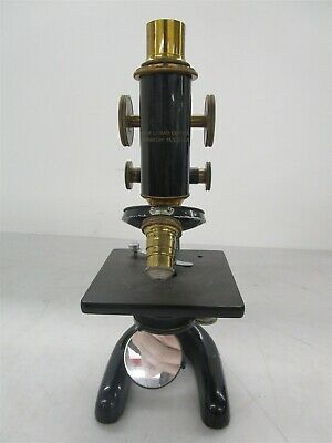Antique Bausch & Lomb Microscope Early 1900s
