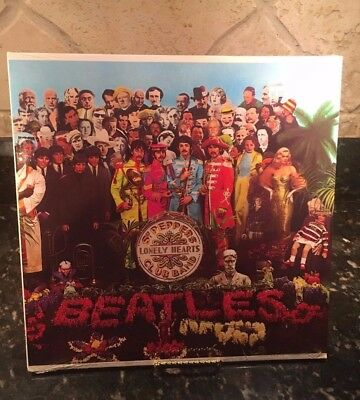 The Beatles Sgt. Pepper's Lonely Hearts SEALED Vinyl Record LP - 70's Pressing