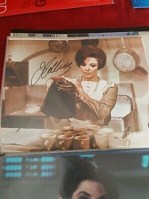 Star Trek Autograph Hand Signed Joan Collins As Edith Keeler