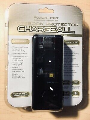 Powerguard Notebook Protector Charge All Charger New