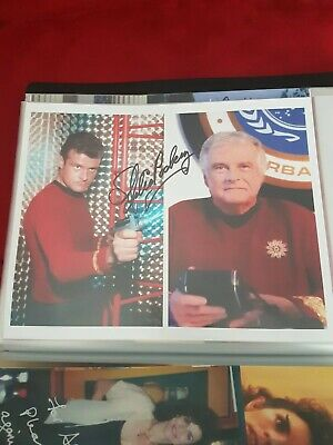 Star Trek Hand Signed Autograph Eddie paskey. The Original Series. Lt Leslie.
