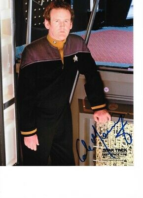Star Trek Autograph Hand Signed Colm Meaney As O'Brien