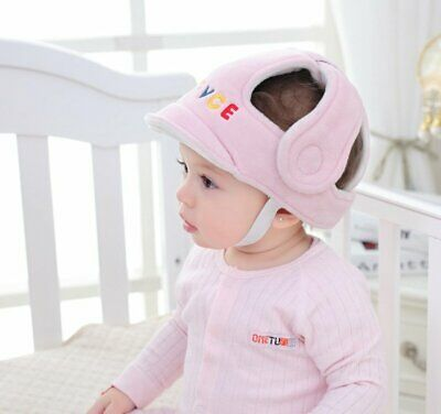 Infant Baby Toddler Safety Head Guard Protection Helmet Kids Hat For Walking