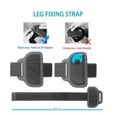 US Leg Strap Ring-Con Hanger And 2 Grips For NS Joy-con Ring Fit Adventure Game