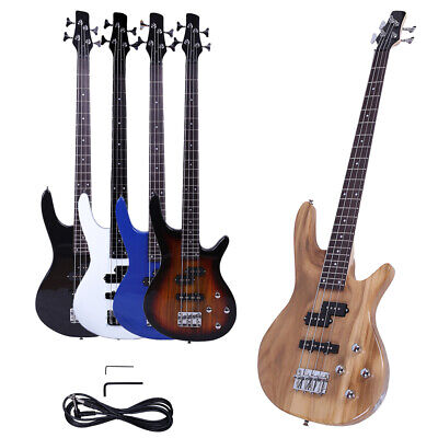 "New 5 Colors 34"" Exquisite Stylish IB Bass with Power Line and Wrench Tool"