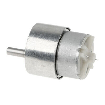 ONE ZGA37RH DC 12V 24V 6mmx15mm Shaft 37mm Diameter DC Geared Motor