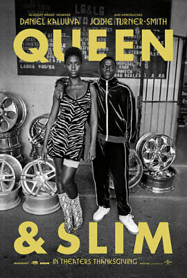 QUEEN & SLIM great original 27x40 D/S movie poster (s01)