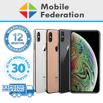 Apple iPhone XS Max A2101 64GB 256GB 512GB Unlocked [AU Stock]