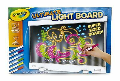 Crayola Ultimate Light Drawing Board Reusable Picture Projector Birthday Gift