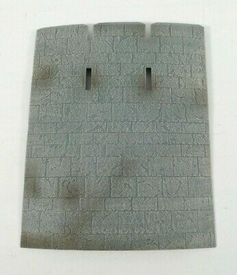 CURVED CASTLE WALLS LOTR AOME 260mm Tall SPARES FROM PLAY ALONG HELMS DEEP SET
