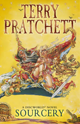 Sourcery (Discworld Novel), Terry Pratchett, Used; Good Book