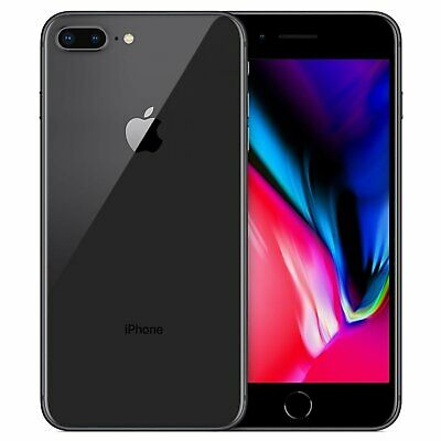Apple iPhone 8 Plus A1864 64GB Space Gray Fully Unlocked (GSM + CDMA) Smartphone