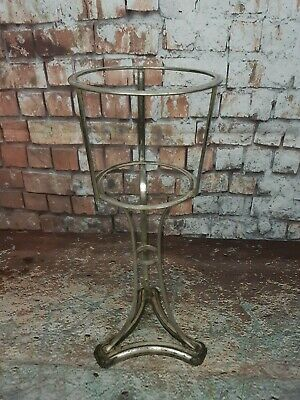 Vintage Art Deco Silver Plated Mappin Webb Style Champagne Wine Ice Bucket Stand