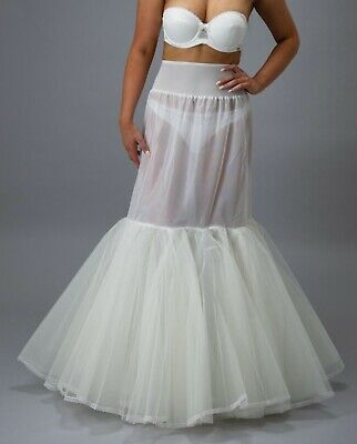 Jupon Bridal 190 Fishtail Underskirt With Hoop. XLarge NEW WITH TAGS!