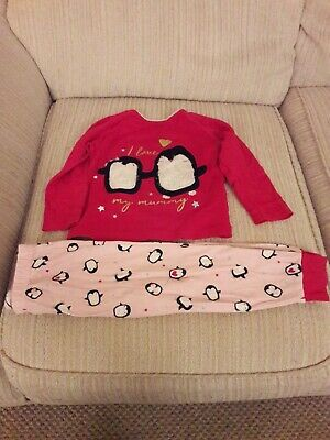 Christmas Girls Pyjamas Age 18 -24 Months