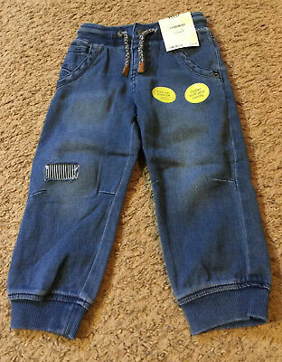 Boys Toddler Genuine Kids From Osh Kosh Denim Jogger Pants Size 2T - NWT