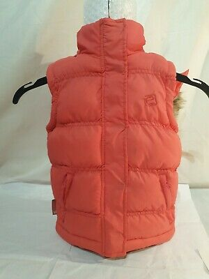 GIRLS PINK GILET BY MOUNTAIN ESSENTIALS with trousers AGE 3-4 years