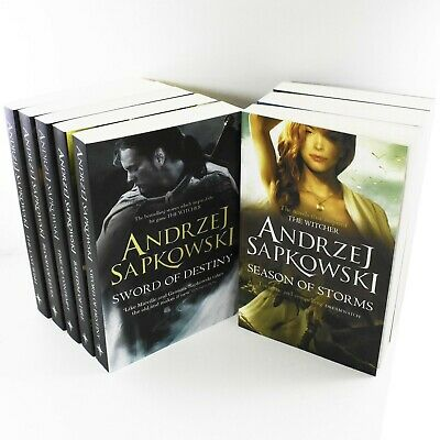 Witcher Series 8 Books Young Adult Collection Paperback By - Andrzej Sapkowsk
