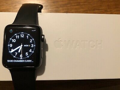 Apple Watch Series 2 42mm Space Grey Smartwatch with Aluminium Case