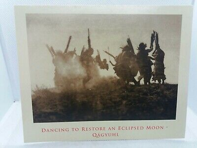 Native American Indian Dancing to restore an eclipsed moon PHOTO