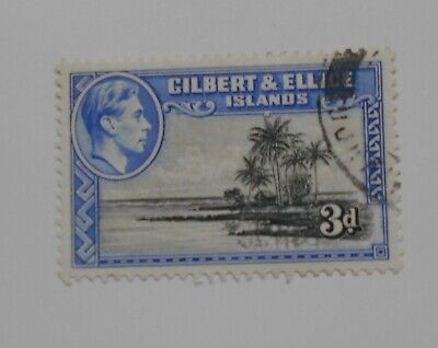 GILBERT AND ELLICE ISLANDS , KGV1 3d Fine Used