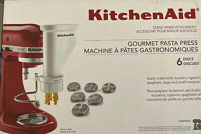KITCHENAID MIXER PASTA Press Stand-Mixer Attachment KPEXTA 6 ...