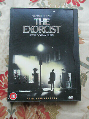 THE EXORCIST 1973 FILM 25th ANNIVERSARY EDITION DVD REGION 2 UK PAL