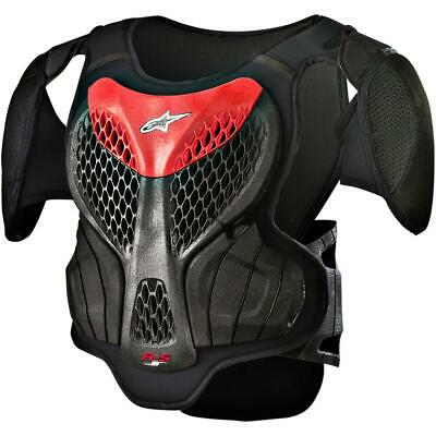 Alpinestars A-5 S Youth Body Armour Black/Red (Black, Small - Medium)